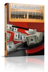 Thumbnail Membership Site Money Magic - With Master Resale Rights