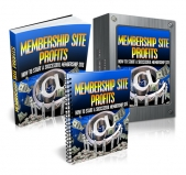 Thumbnail Memership Sites Profit - With Master Resell Rights