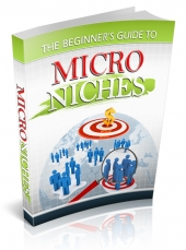 Thumbnail The Beginner's Guide to Micro Niches - With Private Label Rights