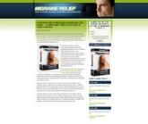 Thumbnail Migraine Landing Page Template