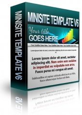 Thumbnail Minisite Template V6 - With Private Label Rights