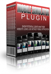 Thumbnail Mobile Simulator Plugin - With Master Resale Rights
