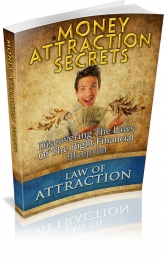 Thumbnail Money Attraction Secrets - With Master Resale Rights