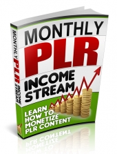 Thumbnail Monthly PLR Income Stream - With