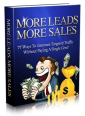 Thumbnail More Leads More Sales - With Master Resale Rights