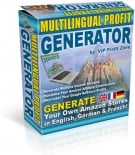 Thumbnail Multilingual Profit Generator - With Resell Rights