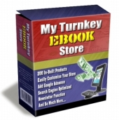 Thumbnail My Turnkey Ebook Store - With Master Resale Rights