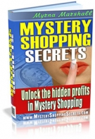 Thumbnail Mystery Shopping Secrets - With Master Resell Rights