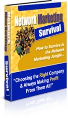 Thumbnail Network Marketing Survival - With Private Label Rights