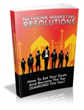 Thumbnail Network Marketing Resolutions - With Master Resale Rights