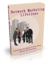 Thumbnail Network Marketing Lifelines - With Master Resell Rights