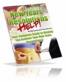 Thumbnail New Years Resolutions Help - With Giveaway Rights