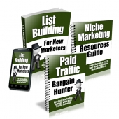 Thumbnail Newbie Marketers Starters Series - With Private Label Rights