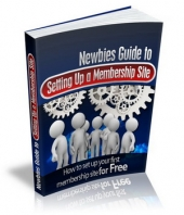Thumbnail Newbies Guide To Setting Up A Membership Site - With Master Resale Rights