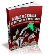 Thumbnail Newbies Guide To Setting Up A Sales Funnel - With Master Resale Rights