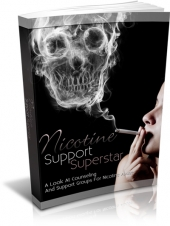 Thumbnail Nicotine Support Superstar - With Master Resell Rights