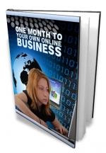 Thumbnail One Month To Your Own Online Business With Master Resale Rights