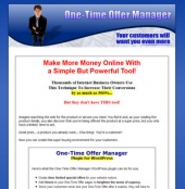 Thumbnail One-Time Offer Manager Plugin For WordPress - With Master Resale Rights