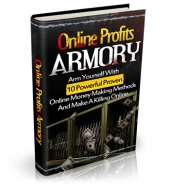 Thumbnail Online Profits Armory - With Master Resale Rights