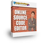Thumbnail Online Source Code Editor - With Master Resale Rights