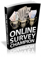 Thumbnail Online Survey Champion - With Resale Rights