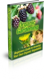 Thumbnail Organic Gardening - With Master Resale Rights
