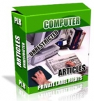 Thumbnail Private Label Article Pack : Computer Articles With Private Label Rights