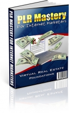 Thumbnail PLR Mastery for Internet Marketers With Master Resale Rights
