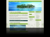 Thumbnail Palm Tree Island WP Theme - With Master Resale Rights