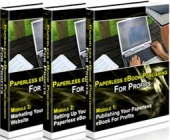 Thumbnail Paperless E-Book Publishing For Profits - With Master Resale Rights