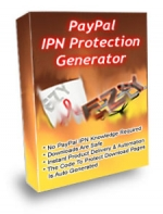 Thumbnail Paypal IPN Protection Generator - With Private Label Rights