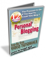 Thumbnail Personal Blogging - With Master Resale Rights