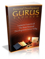 Thumbnail Personal Development Gurus Exposed - With Master Resale Rights