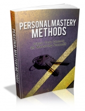 Thumbnail Personal Mastery Methods - With Master Resale Rights