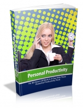 Thumbnail Personal Productivity - With Master Resale Rights