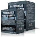Thumbnail Personalize Your Website - With Resell Rights