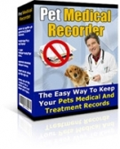 Thumbnail Pet Medical Recorder - With Resell Rights