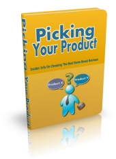 Thumbnail Picking Your Product - With Master Resell Rights