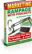 Thumbnail Marketing Rampage With Podcasts - With Resell Rights
