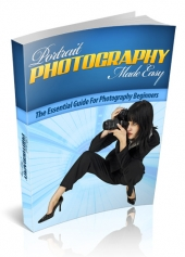 Thumbnail Portrait Photography Made Easy - With Master Resell Rights