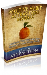 Thumbnail Positive Habit Attraction Models - With Master Resale Rights