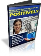 Thumbnail Using Power of Positive Thinking - With Resell Rights