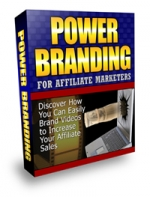 Thumbnail Power Branding For Affiliate Marketers - With Master Resale Rights