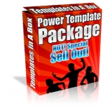 Thumbnail Power Template Package - With Private Label Rights