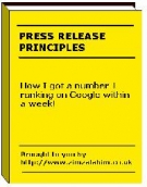 Thumbnail Press Release Principles - With Master Resell Rights