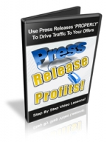 Thumbnail Press Release Profits! - With Resale Rights