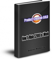Thumbnail Product Creation Gold - With Resell Rights