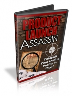 Thumbnail Product Launch Assassin - With Private Label Rights