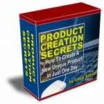 Thumbnail Product Creation Secrets - With Resell Rights