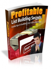Thumbnail Profitable List Building Secrets - With Master Resell Rights
